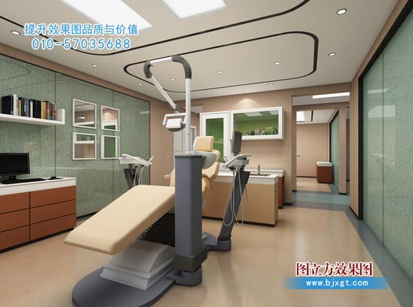 私人牙科诊所效果图-诊所-医院设计